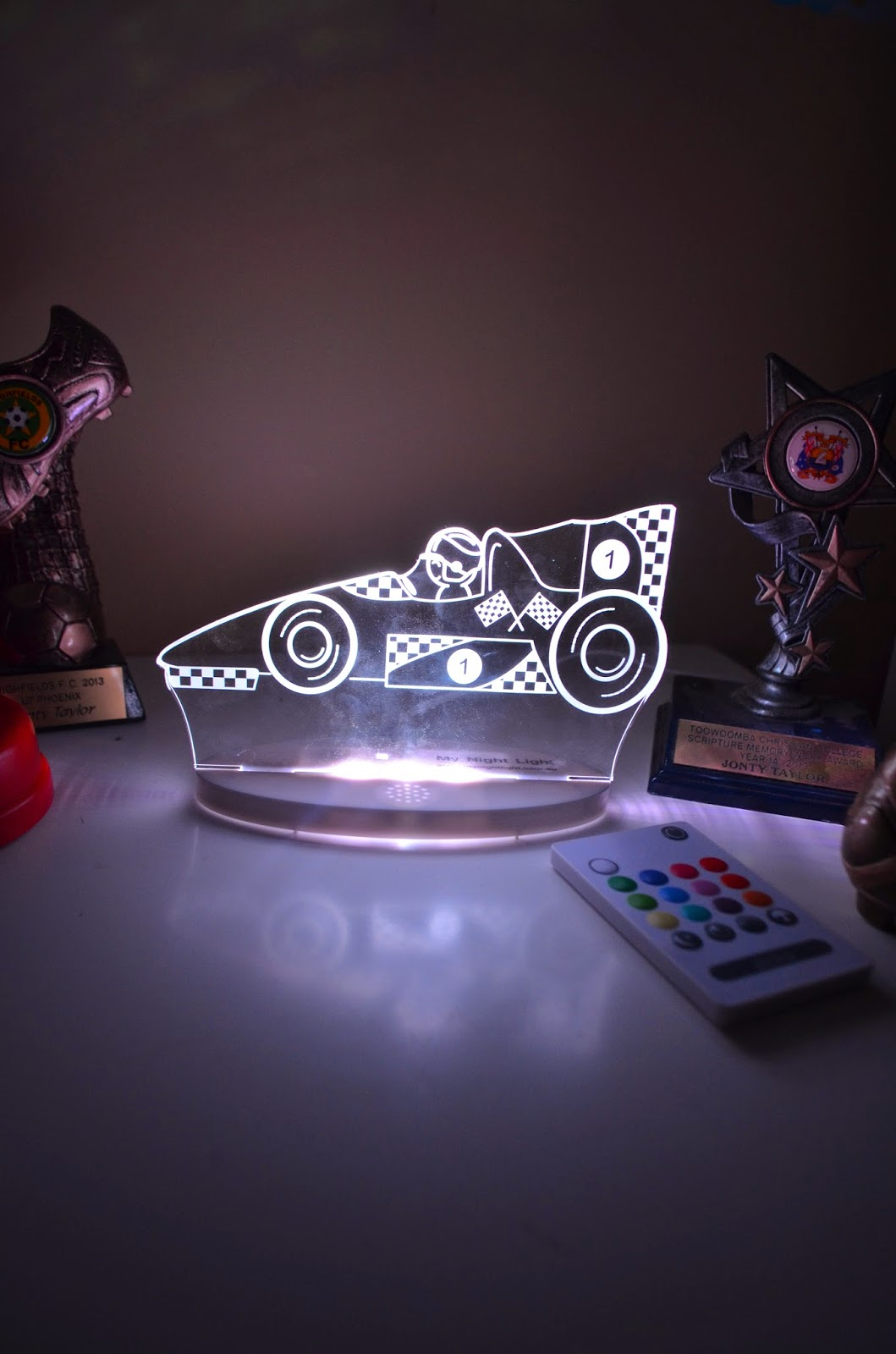 Racing Car My Night Light