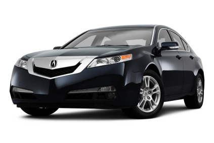 Acura 2012 on The 2009 2011 Acura Tl Front View