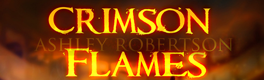 COVER REVEAL: Crimson Flames by Ashley Robertson