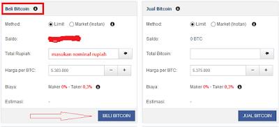 Trading bitcoin menggunakan rupiah step 2