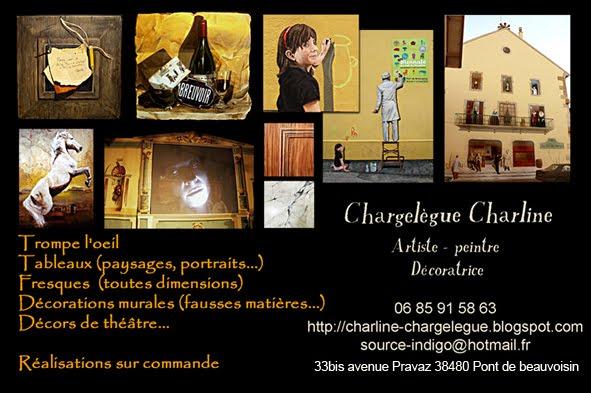 Peintre décoratrice, Fresque , trompe-l'oeil, tableau, décor de théâtre, Rhône-Alpes, Isère