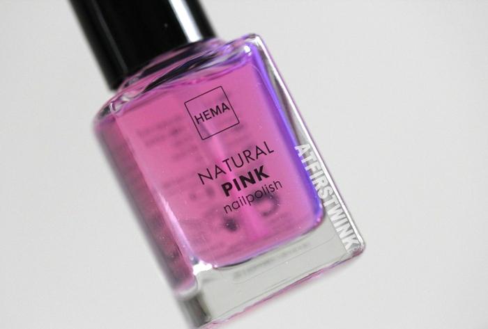 HEMA natural pink nail polish (Dior Nail Glow dupe)