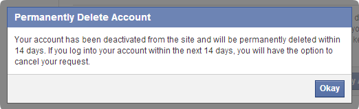 How to Delete or deactivate a Facebook Account Permanently