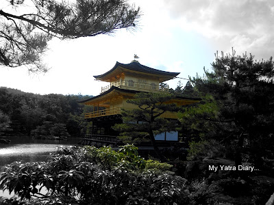 The Kinkaku-ji or the Golden pavillion, Kyoto in Japan