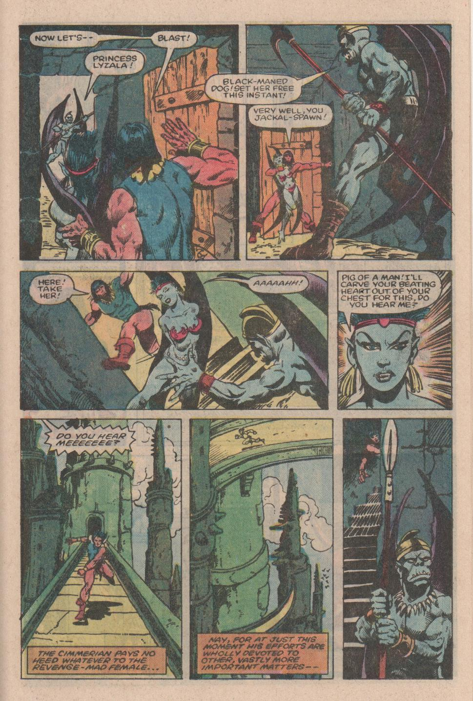 Conan the Barbarian (1970) Issue #154 #166 - English 18