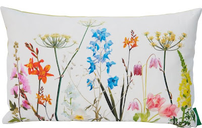 Floral style Isabelle Garden cushion by Ella Doran