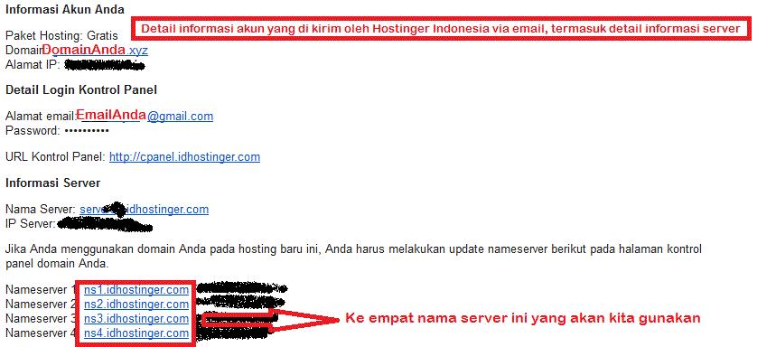 Cara menghubungkan domain .XYZ dari Niagahoster dengan ...