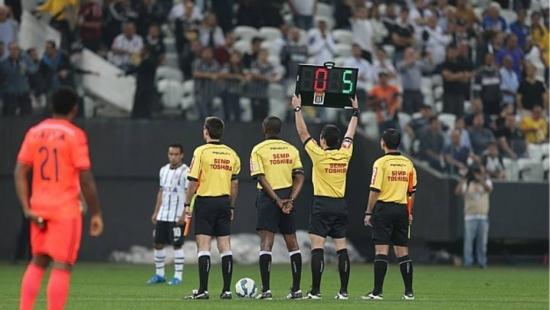 Árbitros se manifestaram ao veto da Presidente Dilma Rousseff sobre repasse do direito de arena