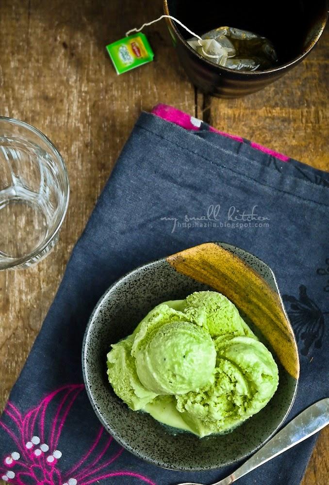 how to make matcha green tea ice cream
