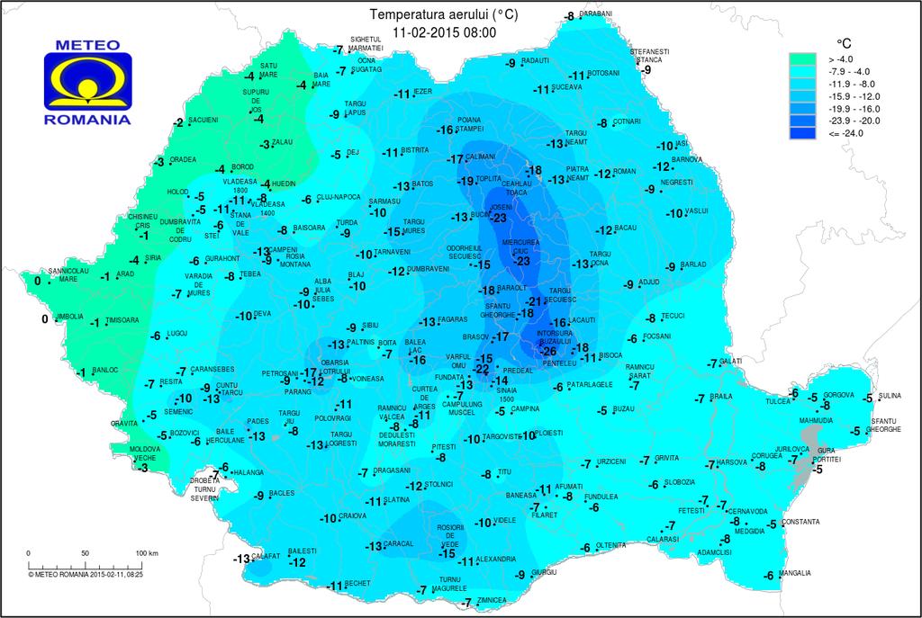 időjárás, fagy, hideg, Bodzaforduló, Románia, hideg, Székelyföld,