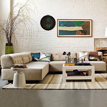 Decoración de Salas con Sofás Modulares