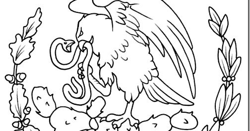 Aguila Delabandera De Mexico Dibujo - Chungcuso3luongyen