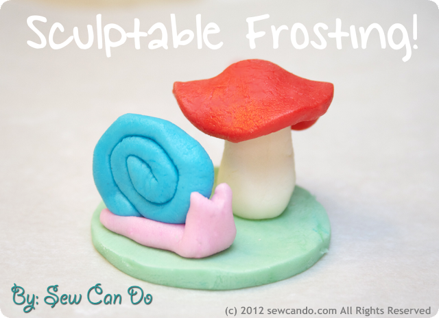 sculptable frosting