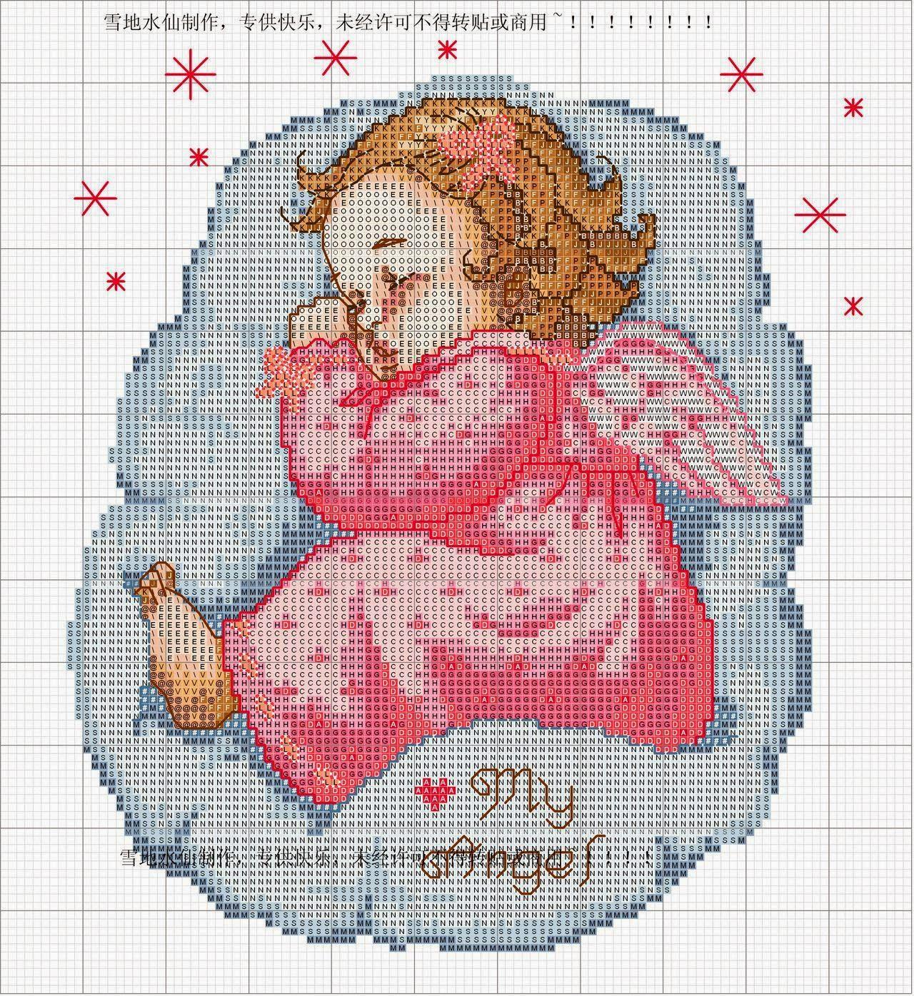 Blog amor perfeito gr ficos de ponto cruz anjinhos for Angioletti punto croce per bambini