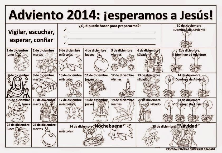 Blog para una Navidad Feliz: Calendarios de Adviento 2014 para ...