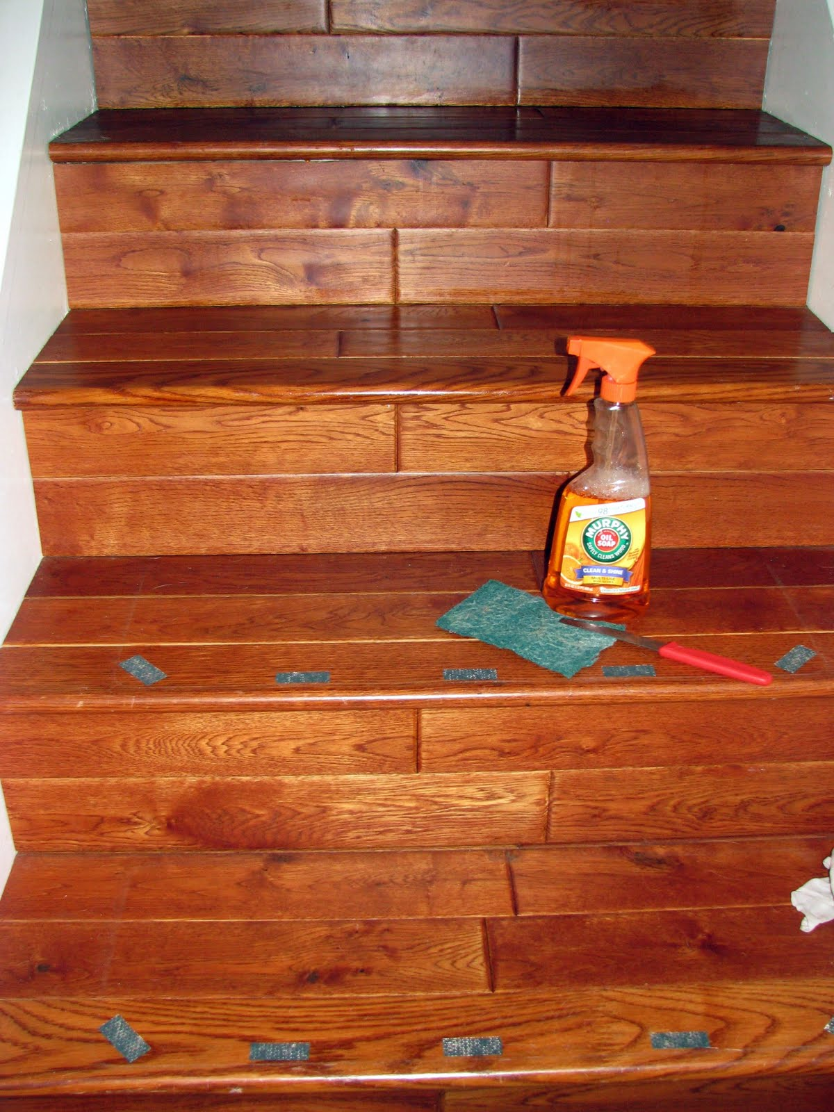 Cleaning hardwood floors with murphy oil soap - Murphy S Oil Soap Not My Usual Floor Care Product But It Did Cut Through And Loosen That Nasty Adhesive A Thorough Cleaning With A Damp Cloth And Vinegar