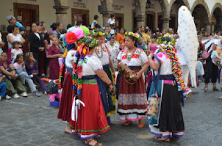 Dances and Folklore in Patzcuaro at the Green Cross Celebration