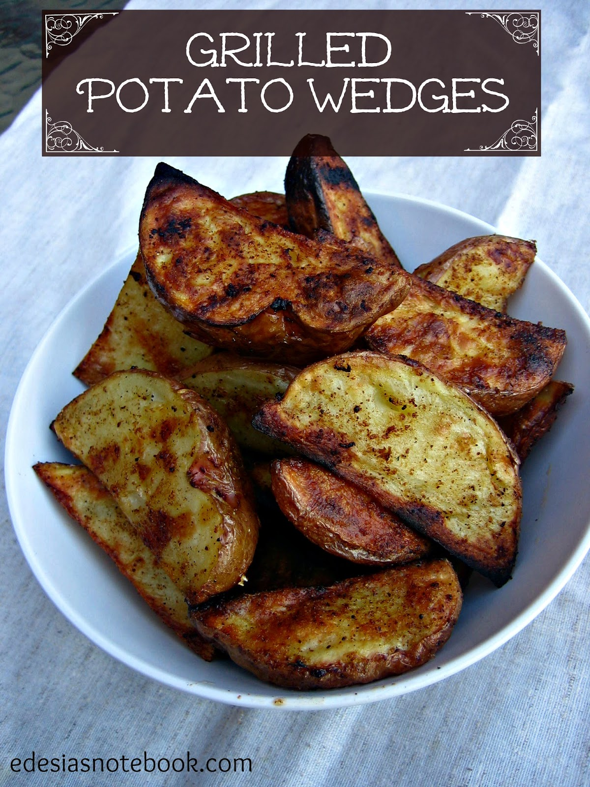 how to cut red potatoes into wedges