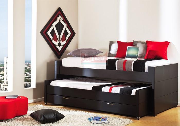 Moderna cama invergod c a for Juego de habitacion moderno