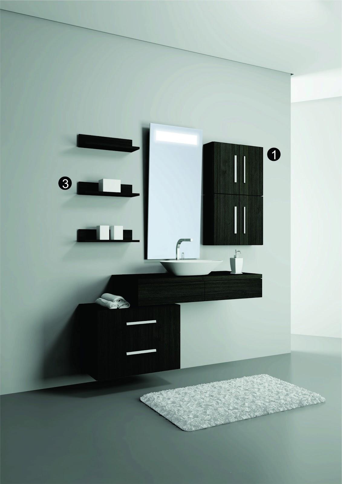Banheiros com Estilo: Organização e Praticidade #54776E 1131 1600