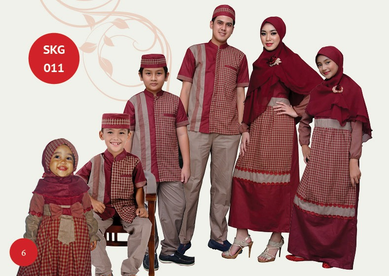 Model Baju Lebaran Keluarga 2015