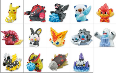 Kimewaza Pokemon Kids BW 2 Bandai