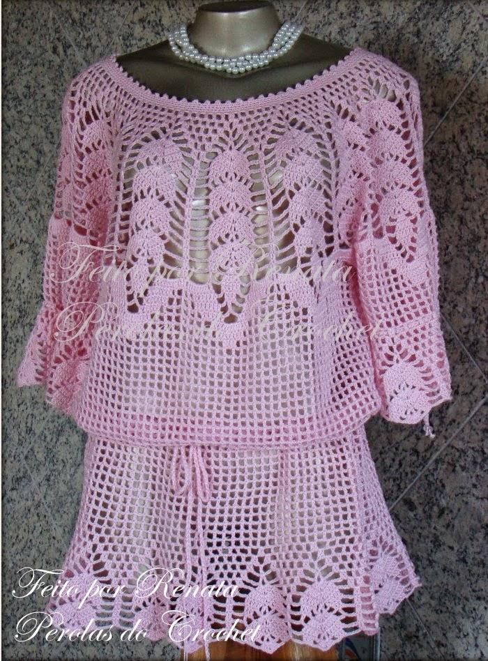 Crochet P : PErolas do Crochet: Passo-a-passos