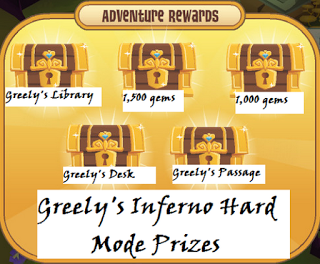 Search for greely prizes hard mode
