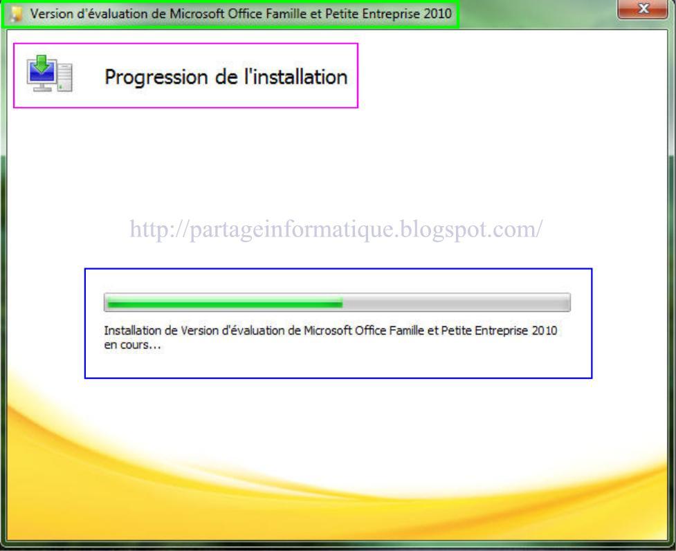 Partage informatique installation microsoft office 2010 - Installer office 2010 sur windows 8 1 ...