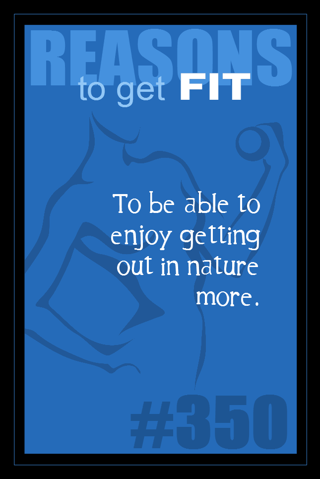 365 Reasons to Get Fit #350