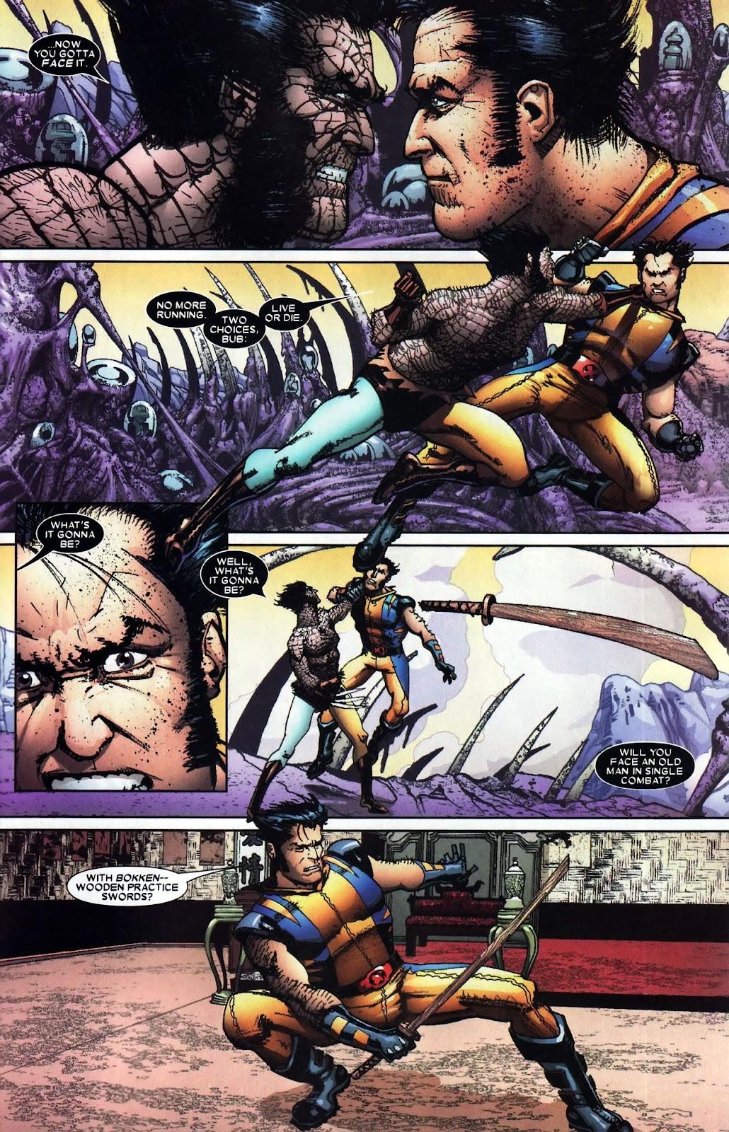 Read online Wolverine (2003) comic -  Issue #59 - 16