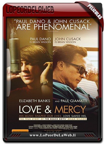Love & Mercy BRrip 720p Latino (2014)