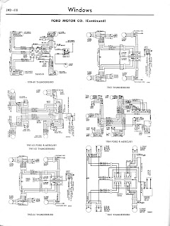 auto wiring diagram 2011 this is 1965 ford thunderbird window controls wiring diagram click the picture to downlo