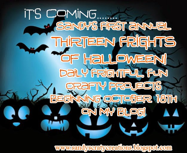 2014 Thirteen Frights of Halloween! October 18th