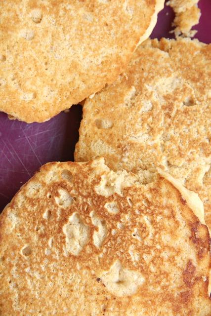 White whole wheat milk-free, egg-free pancake recipe