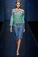 Прозрачна пола молив до коляното от Alberta Ferretti