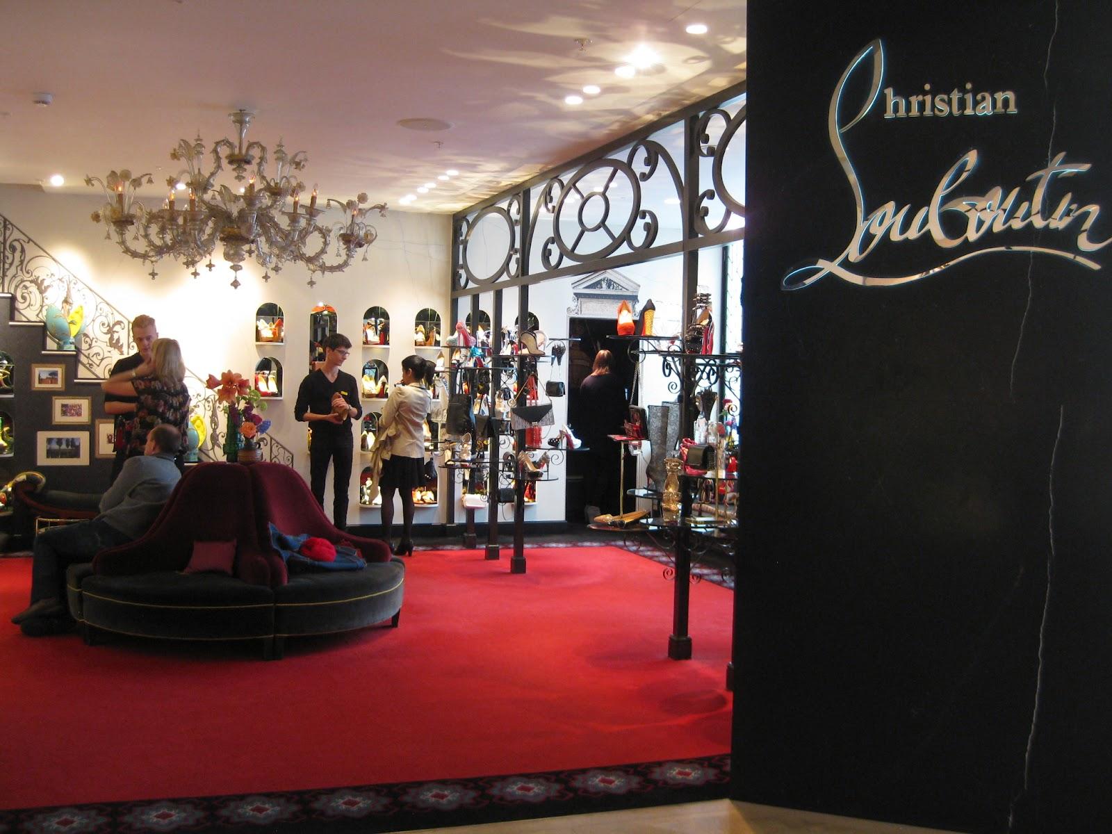 Christian Louboutin salon