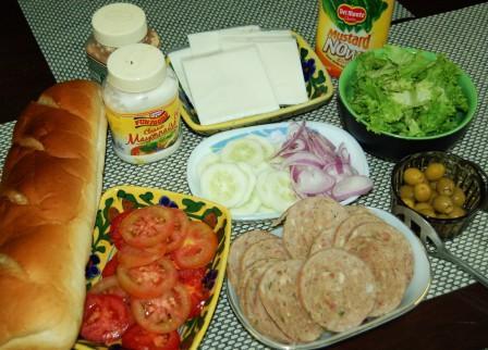 bake a mania make your own subway sandwich