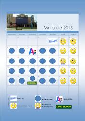 Calendário Educação Infantil Maio 2015