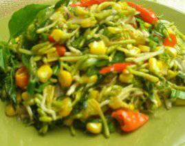 resep masakan dari kembang kates