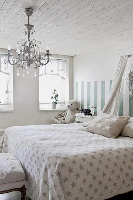 amenajari, interioare, decoratiuni, decor, design interior, stil shaby chic, scandinav, alb, rustic, dormitor