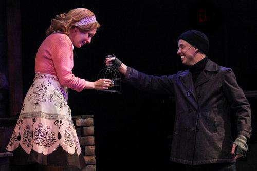 Kelly Chapin Martin and Benjamin   Sweeney Todd   Actor's Express