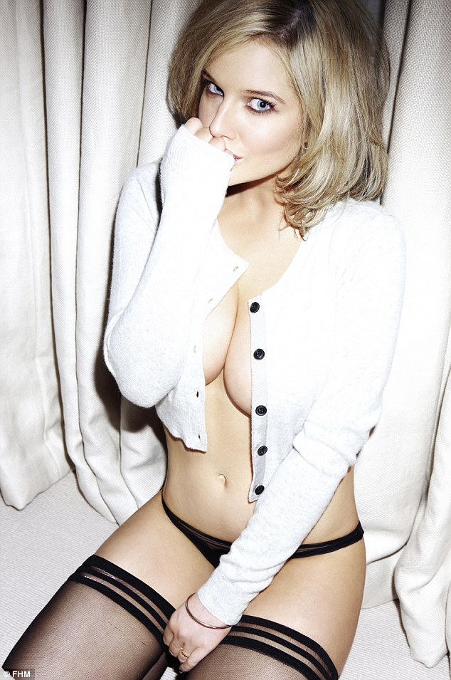 Helen Flanagan poses for FHM 2013 Calendar