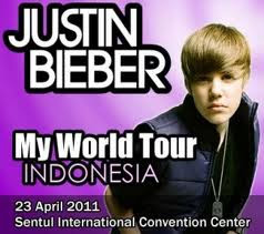 Justin Bieber Concert in Indonesia