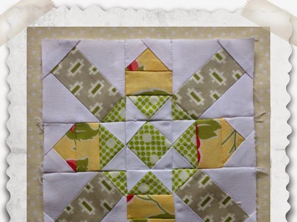 Chatelaine Free BOW Sampler Quilt Block 21