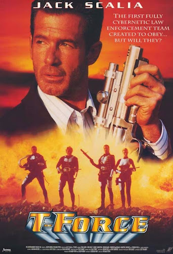 Poster Of T-Force 1994 Full Movie Download 300MB In Hindi English Dual Audio 480P ESubs Compressed Small Size Pc Movie
