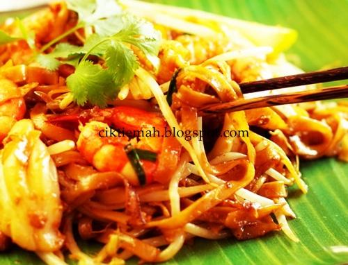 Resepi masakan Char Kuey Tiaw