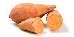 Vegetable : Sweet potato