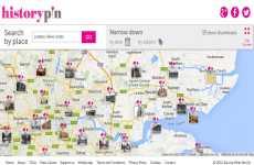 Fotos históricas de todo el mundo geolocalizadas en un mapa de Google Maps: HistoryPin