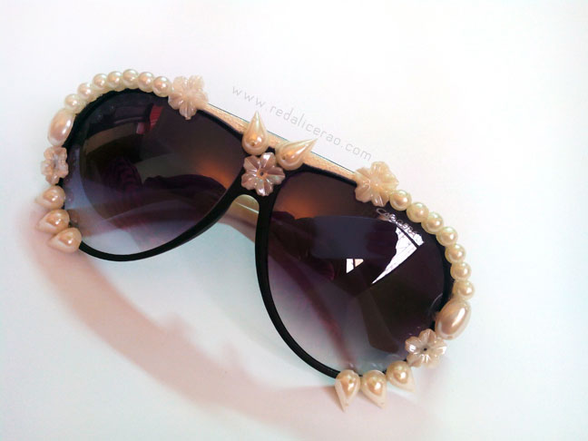 Statement Glasses, Statement Sunglasses, DIY, DIY FAshion, DIY Statement Sunglasses, Make your own fashion, Crafts, Beauty, Fashion, Kitchy fashion, Sunglasses, Designer Sunglasses, red alice rao, redalicerao